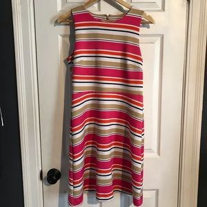 Micheal Kors pink striped dress